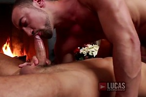 Dato Foland And Donnie Dean Have Gay Bareback Sex