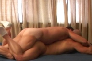 Watch an hot scene where a gay gets his tight butt fucked all night long!