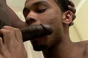 Ebony guys Big Tease and Thugzilla fucking