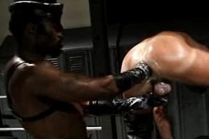 Black fist drills gay ass